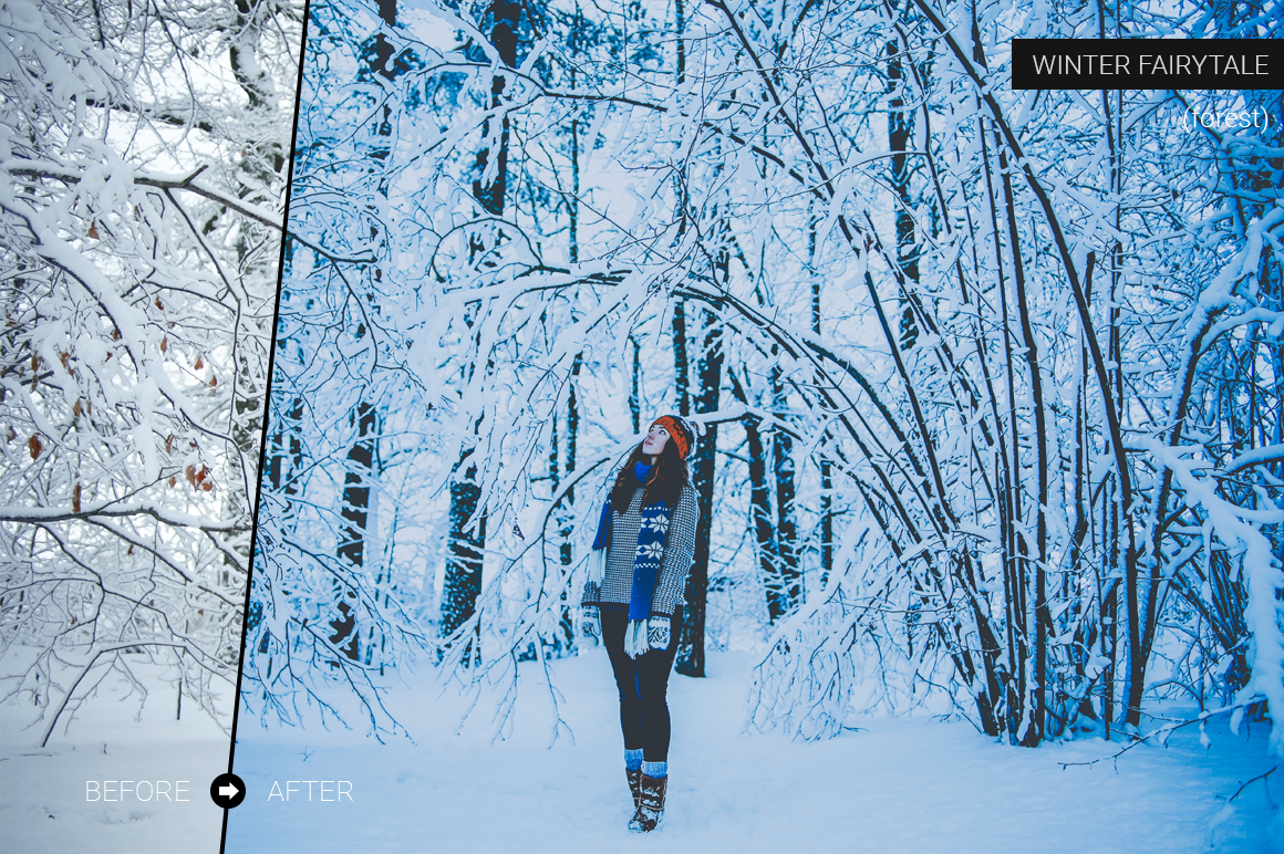 Winter Fairytale Lightroom Presets example image 6