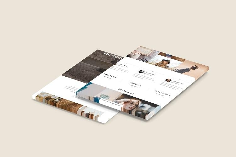 3D Web Showcase Mockup example image 4