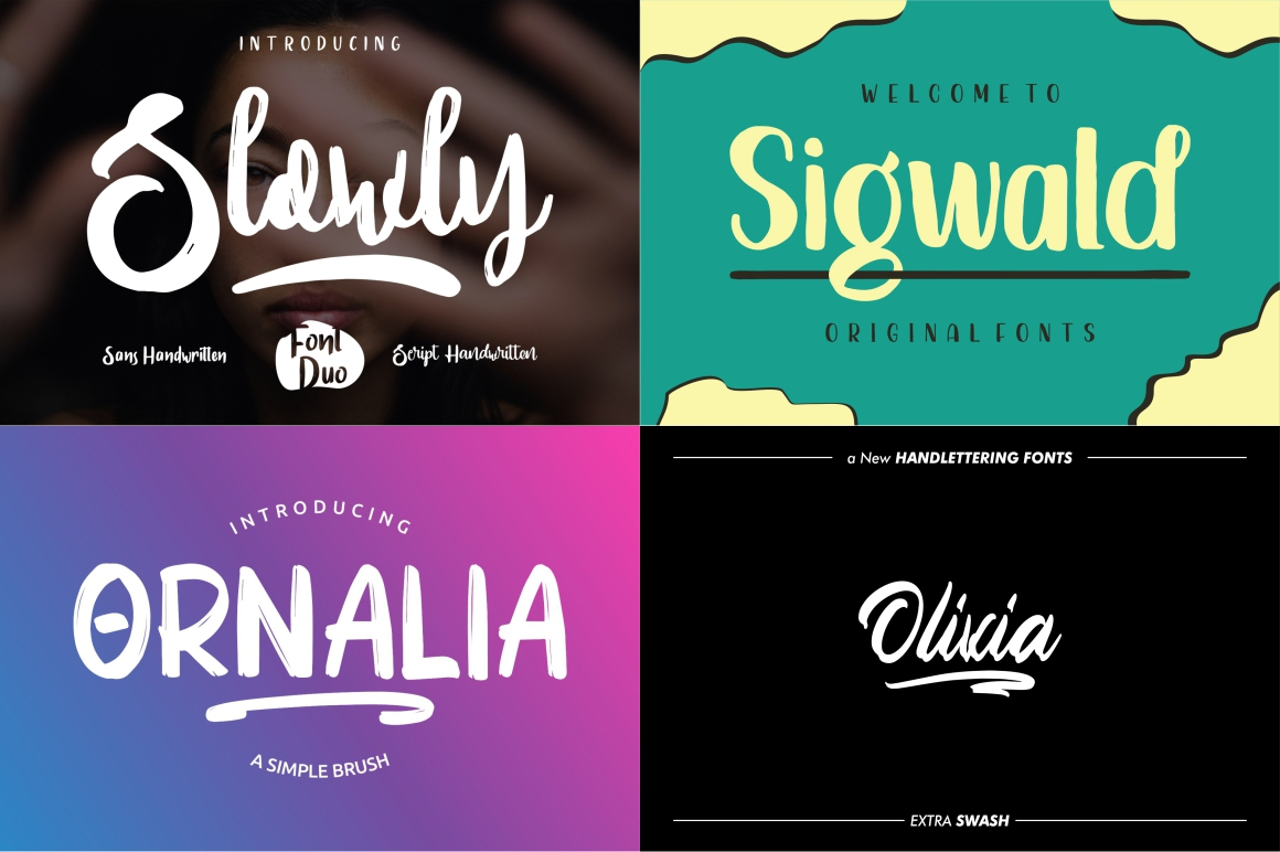 BEST CRAFTER FONT COLLECTIONS example image 9
