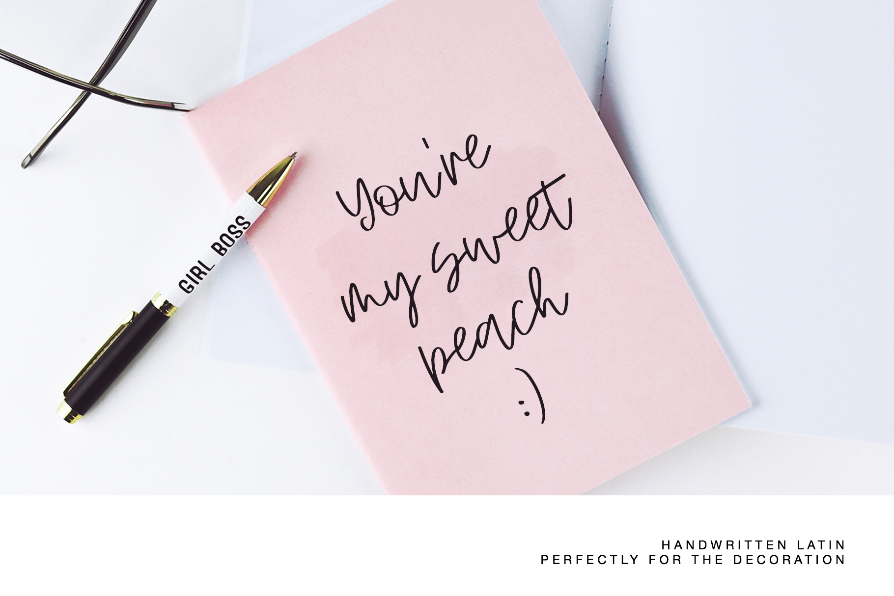 Peach Cream Latin & Cyrillic example image 2