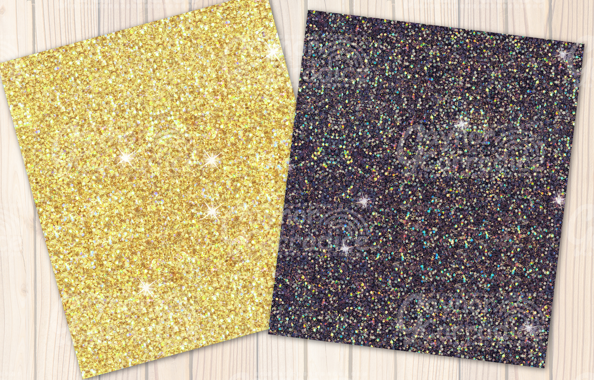 Beach Please glitter collection example image 2