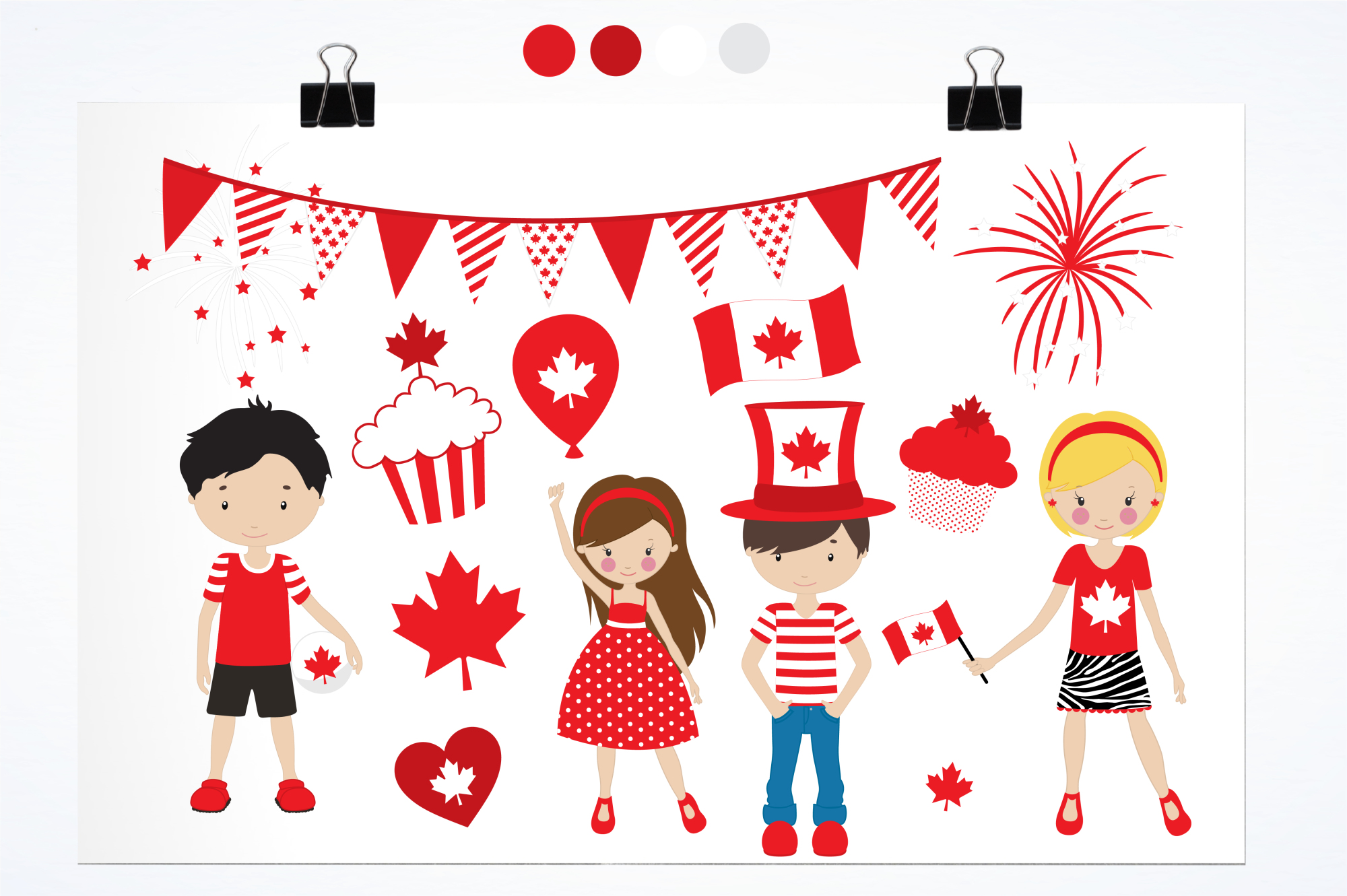 Canada Day graphics and illustrations example image 2
