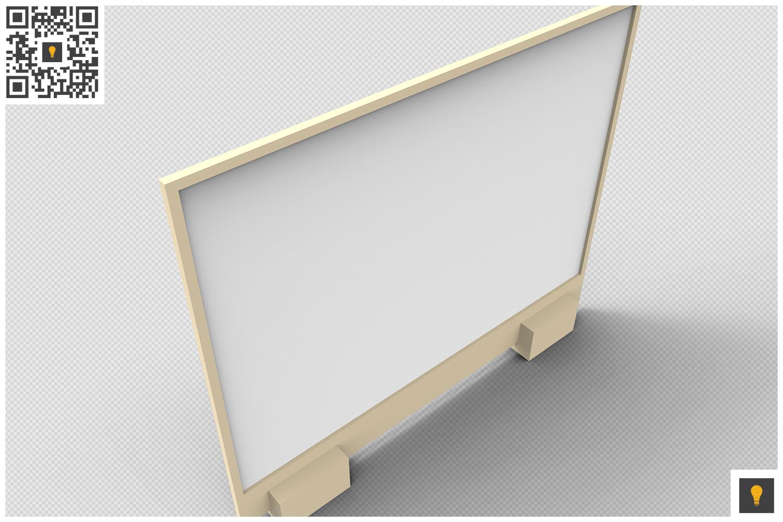 Flyer Display 3D Render example image 18