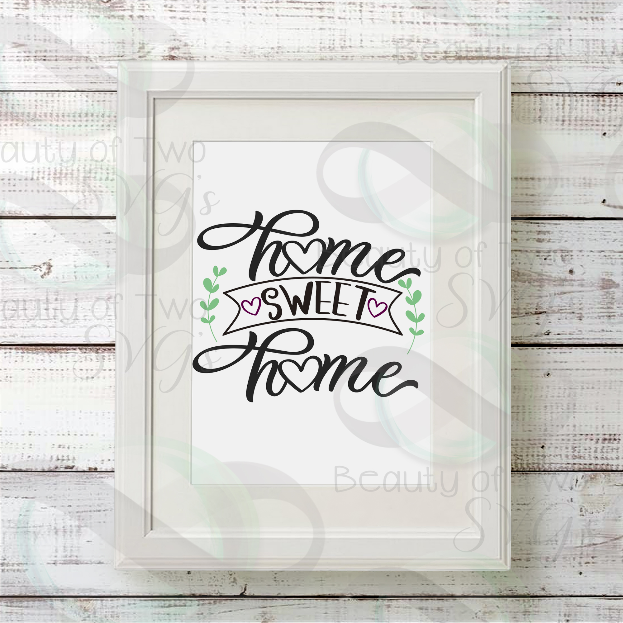 Home Sweet Home sign svg Home Rustic Sign Design svg and png example image 2
