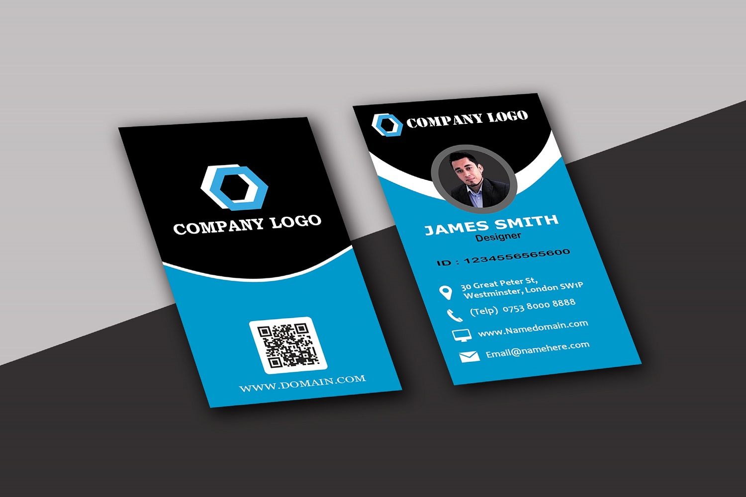 Modern Business Cards example image 9