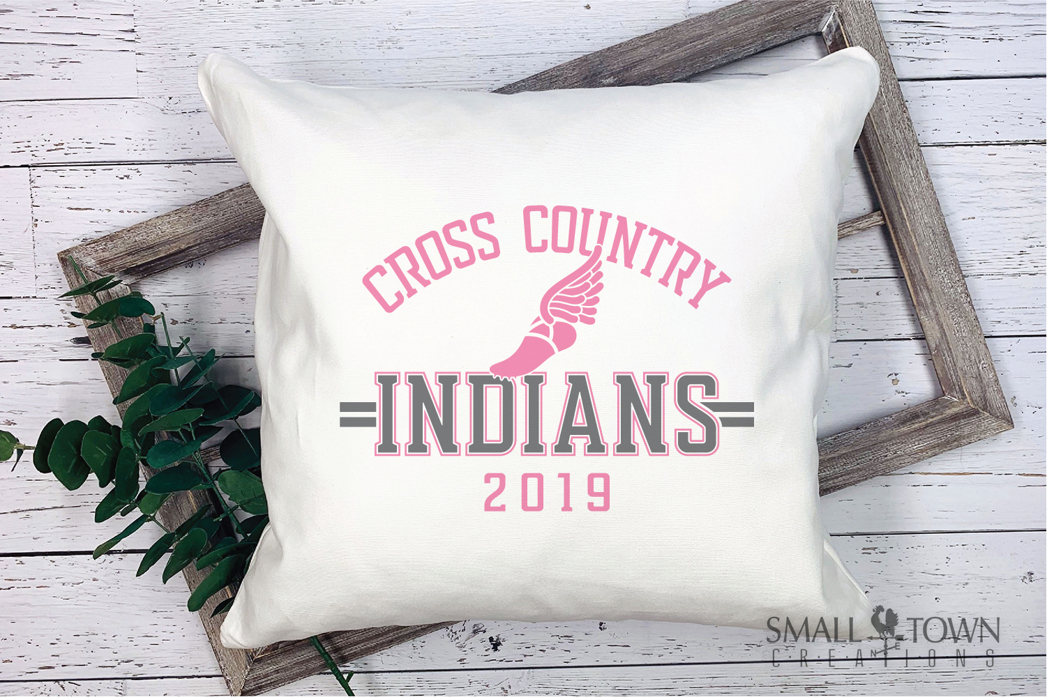 Indian Cross Country, Indians mascot, PRINT, CUT, DESIGN example image 3