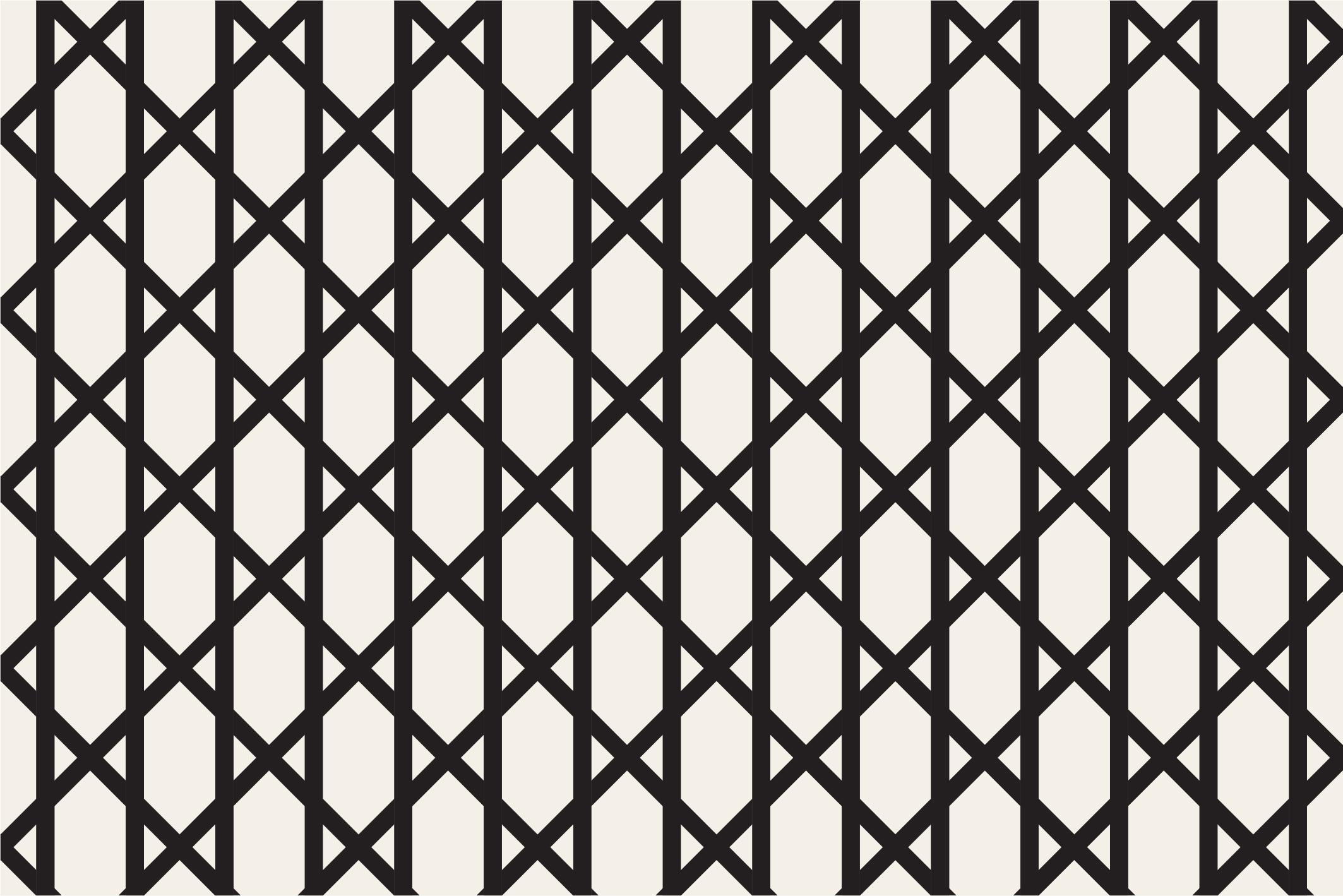 Geometric seamless patterns example image 16