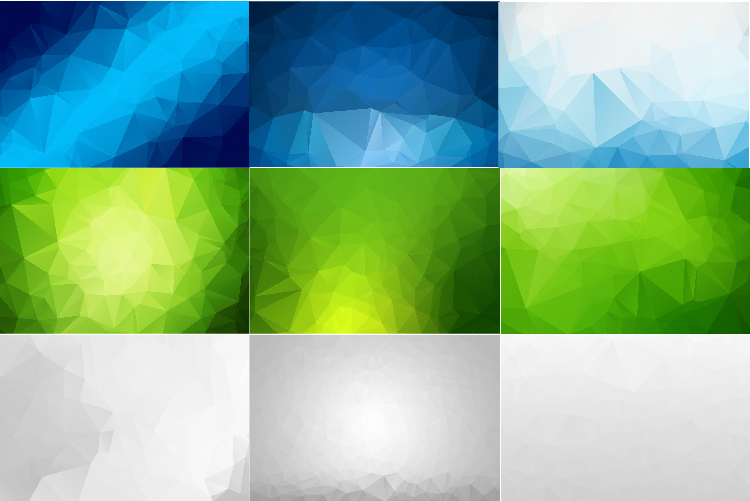 50 IN 1 LOW POLY BACKGROUND BUNDLE 5 COLOR VARIATIONS VECTOR example image 4