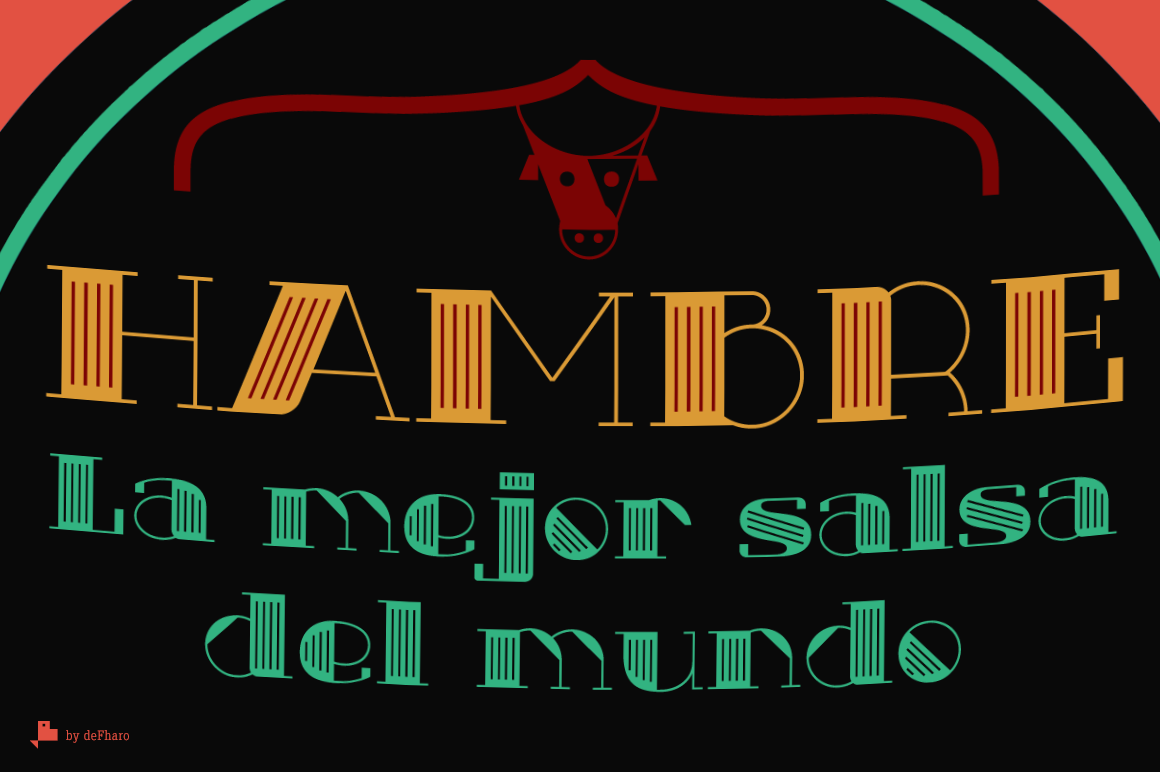 Txuleta Layered Fonts -3 styles- example image 3