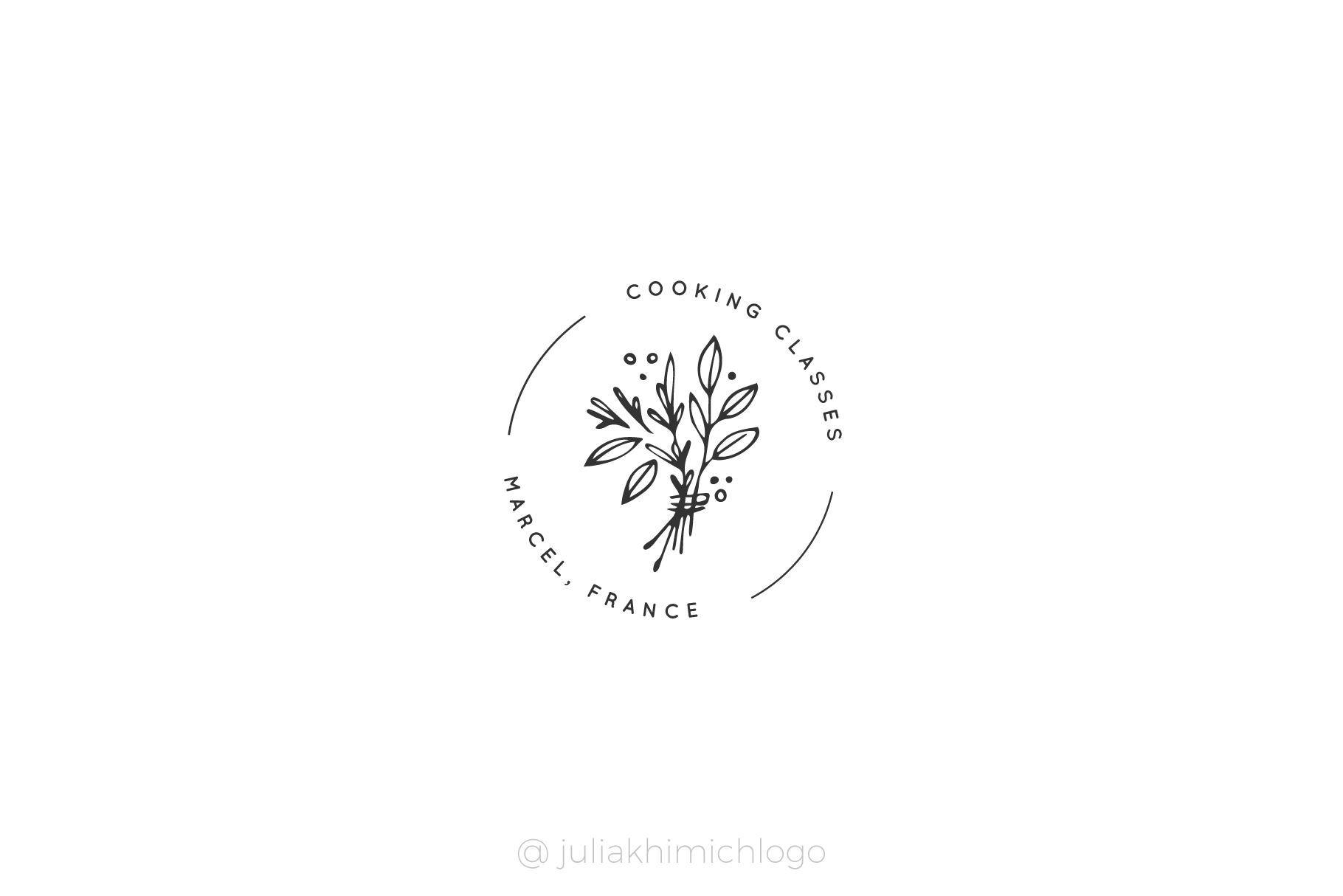 Logo Pack Volume 9. Kitchen example image 12