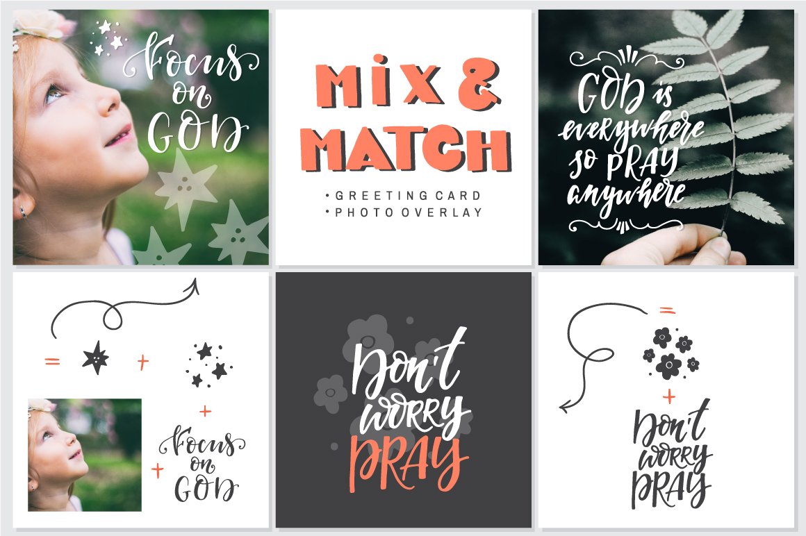 Bible lettering PACK example image 9