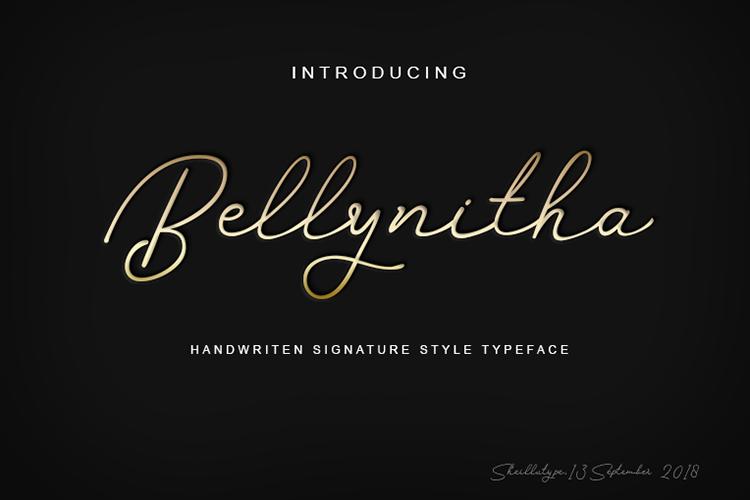 Bellynitha Script example image 7