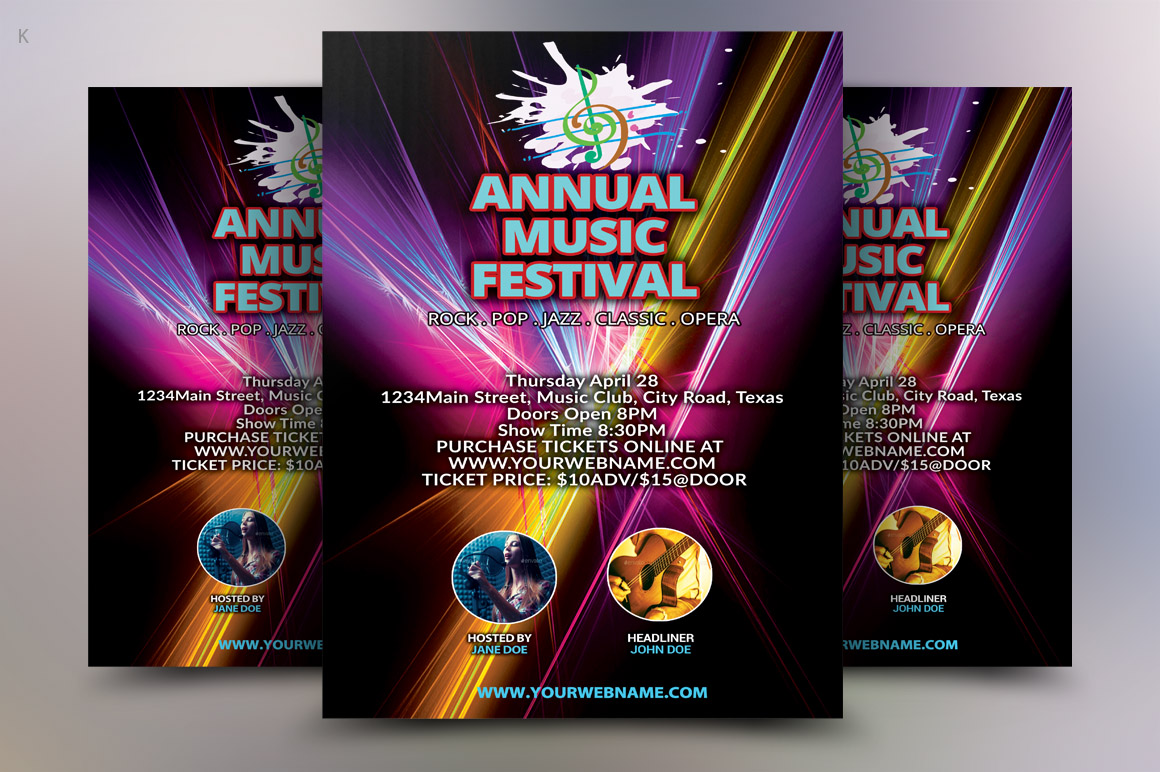 Music Concert Flyer example image 1