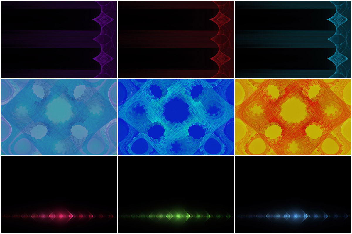 36 Abstract Fractal Backgrounds example image 4