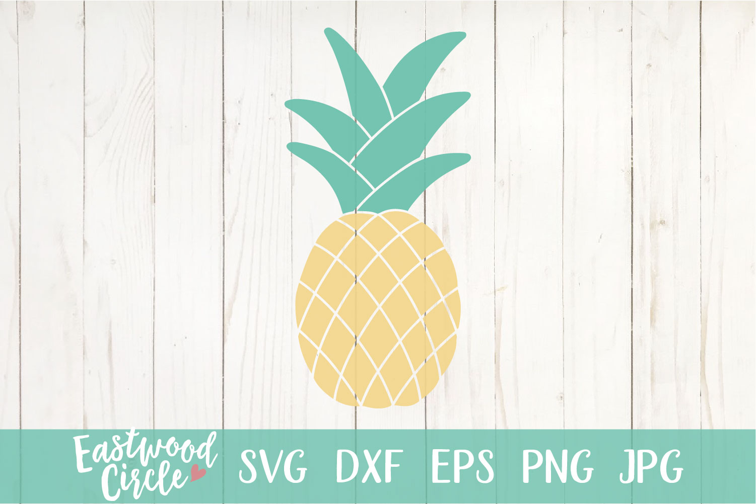 Pineapple - A Summer SVG File for Crafters example image 2