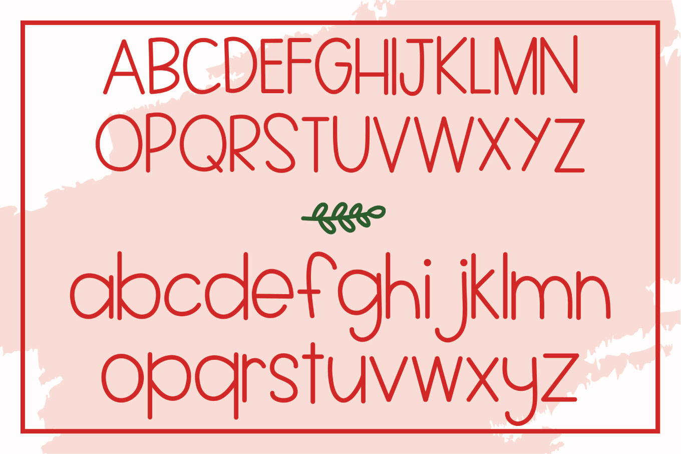 Figgy Pudding - A Christmas Font with Doodles example image 2