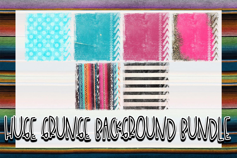 Huge 26 Grunge Background Elements Bundle! example image 2