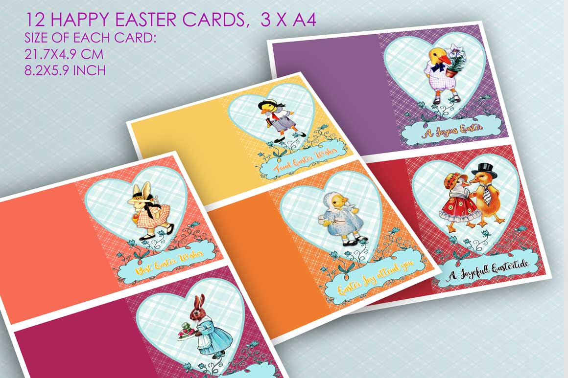 24 Easter Cards and Postcards example image 4
