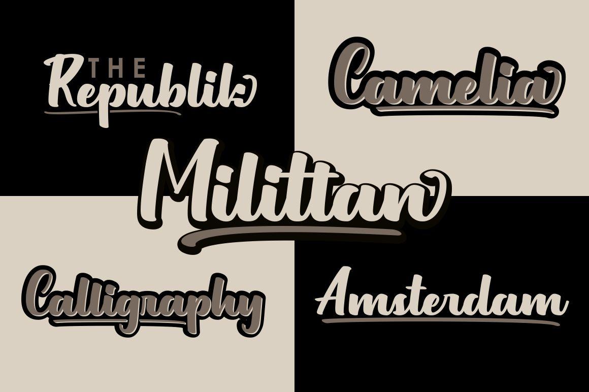 Milittan example image 2