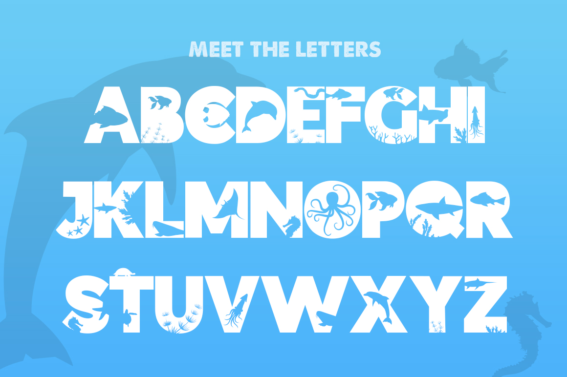 The Ocean Font example image 2