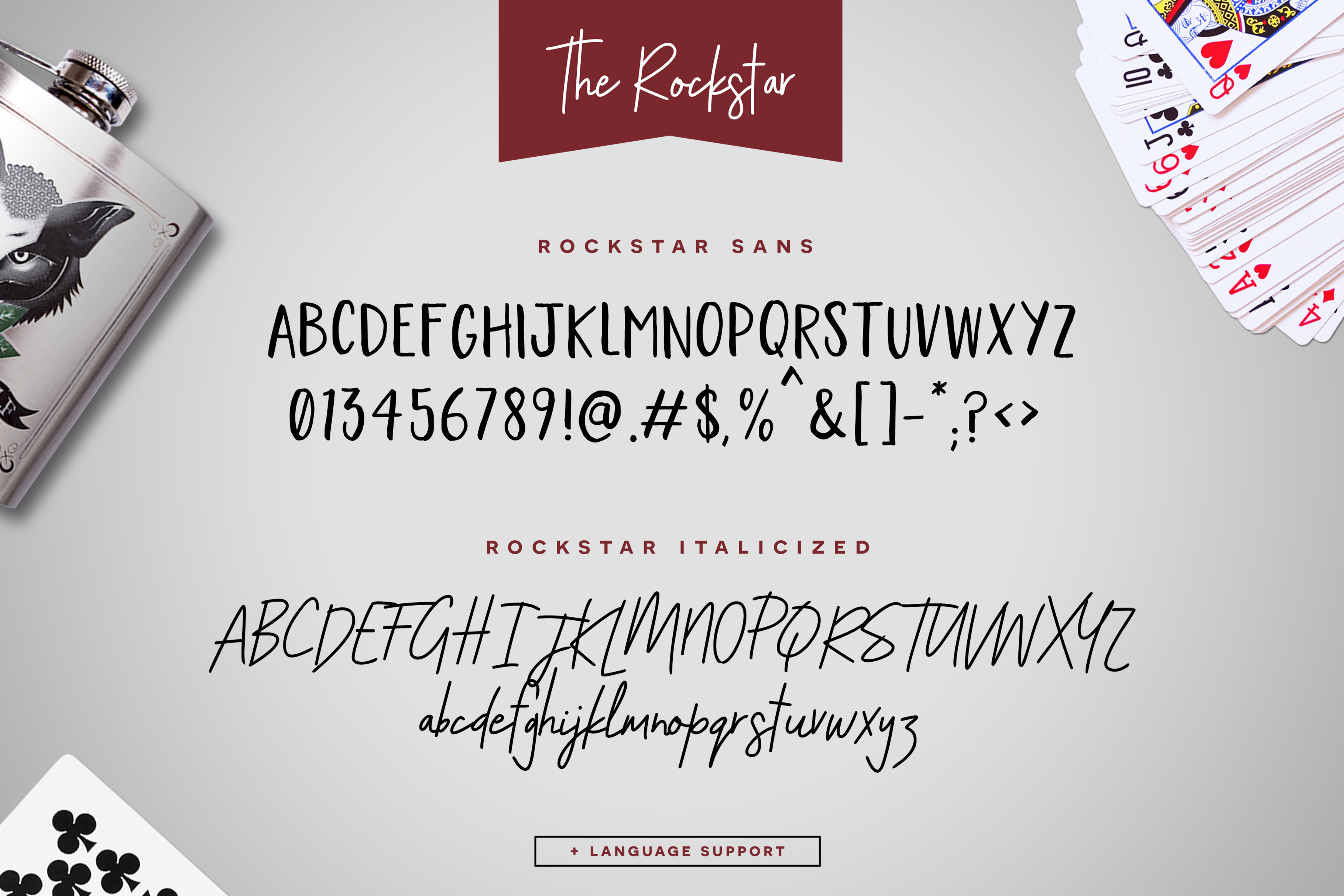 The Rockstar Font Duo example image 6