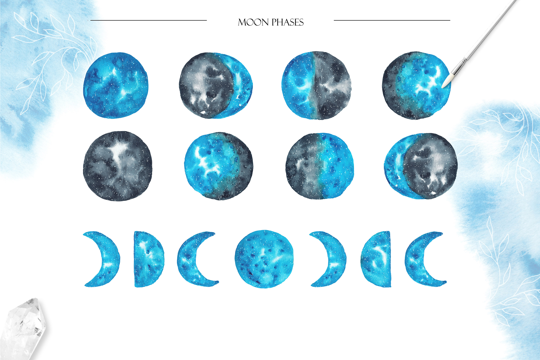 Mystic Artistic. Graphic Set example image 2