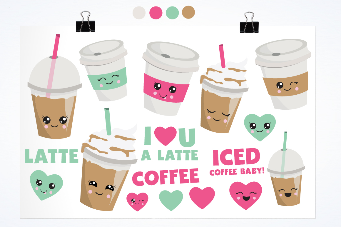Coffee Lovers graphics and illustrations example image 2