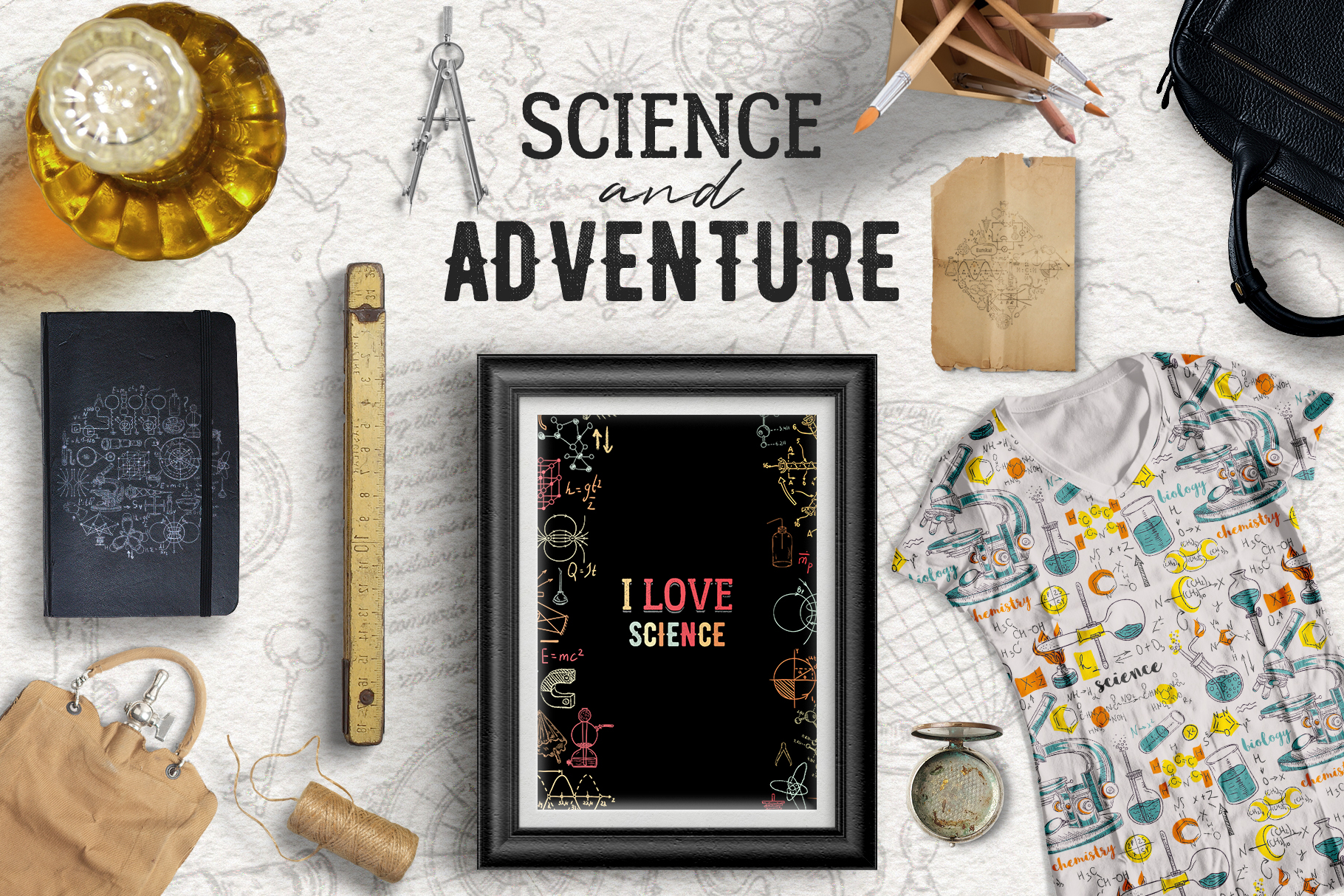 Science and Adventure example image 1