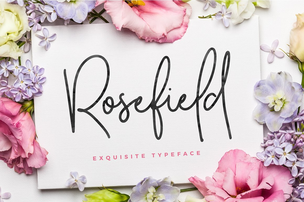 Rosefield Typeface example image 1