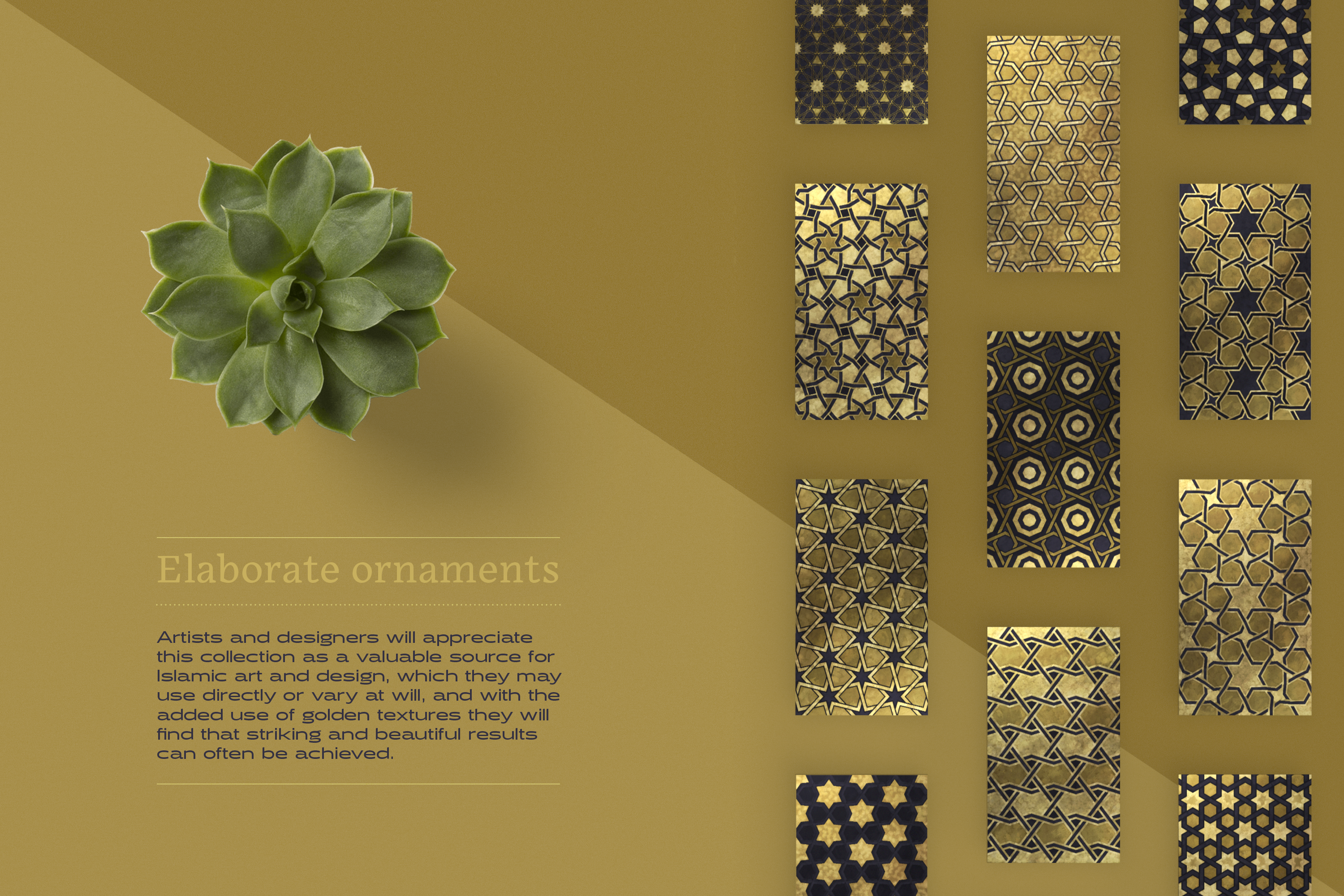Luxury Patterns - 250 geometric backgrounds example image 13