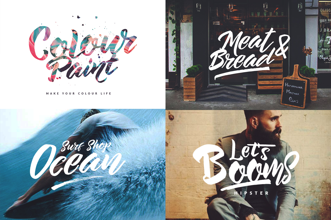 The Beard Hipster Font example image 14