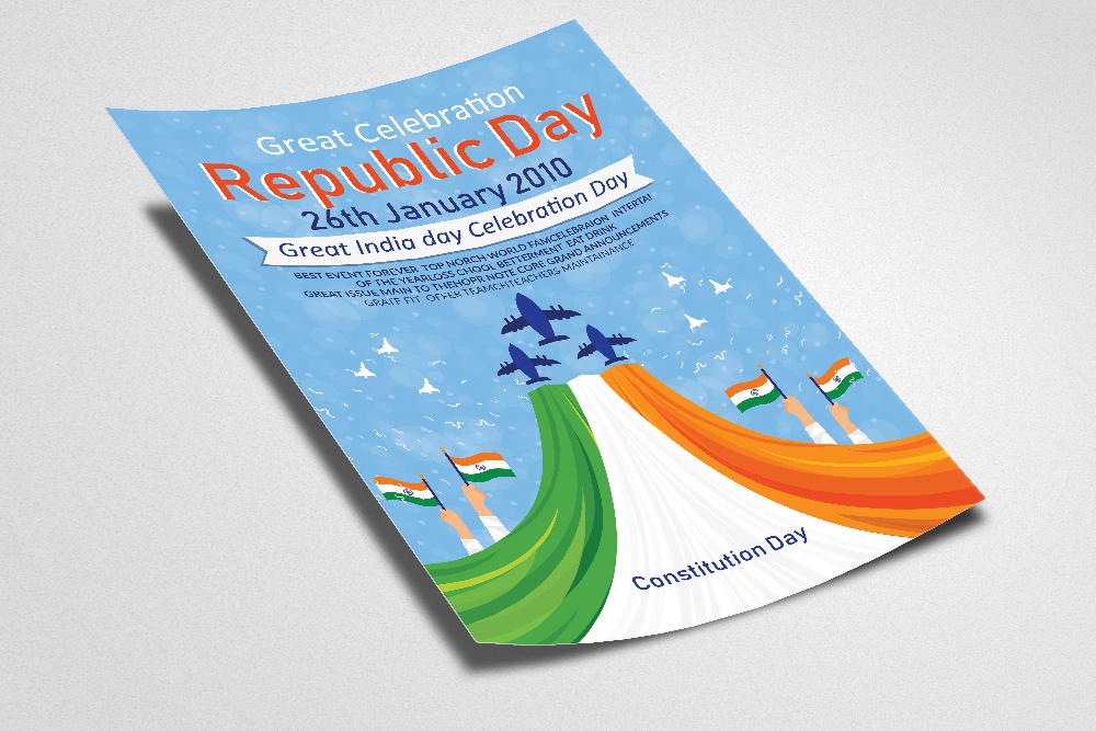 Indian Republic day FLyerTemplate example image 2