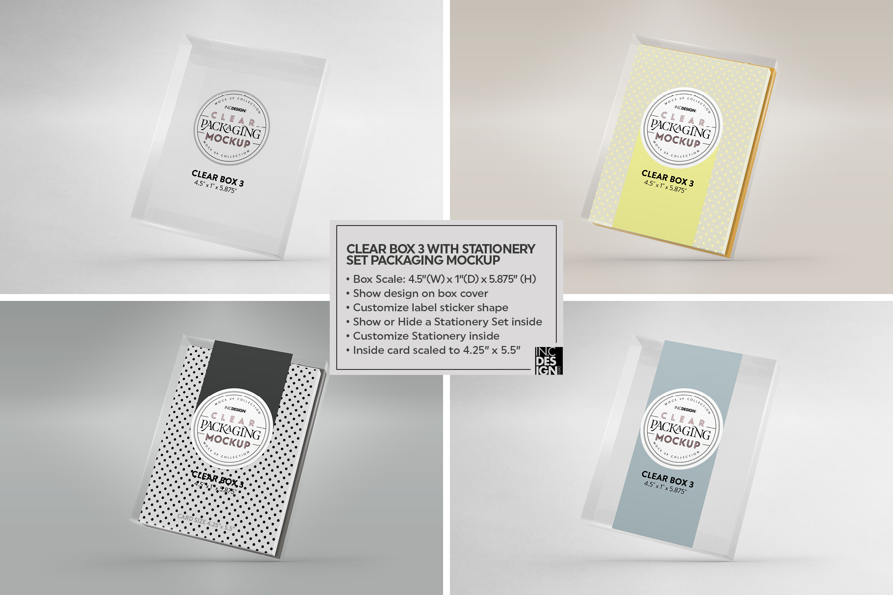 VOL.7 Clear Packaging Mockup Collection example image 19