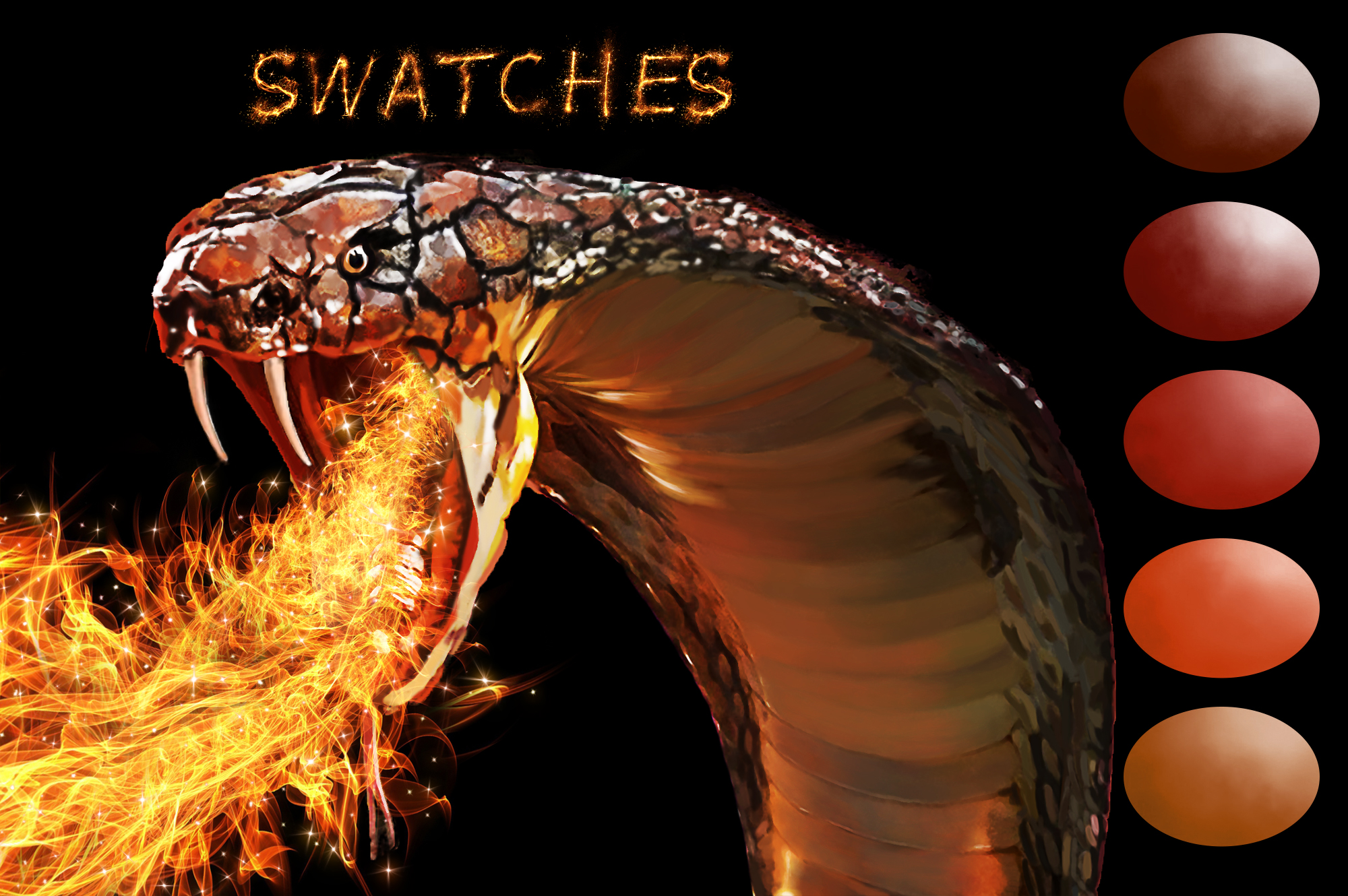 Snake Swatches example image 2