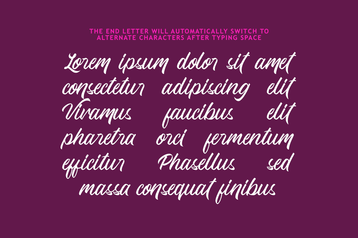 Quick Dream Font example image 5