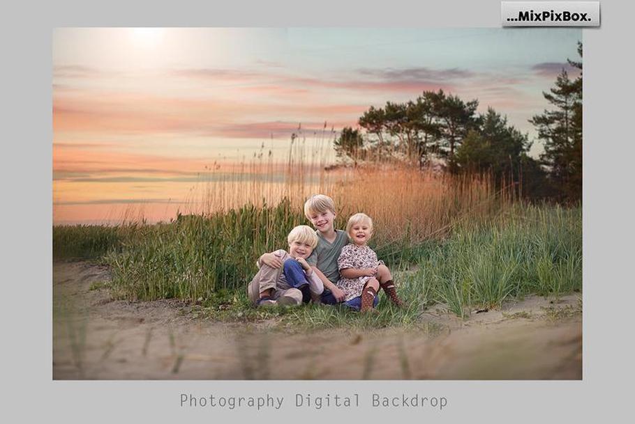 Sunset Backdrops example image 2