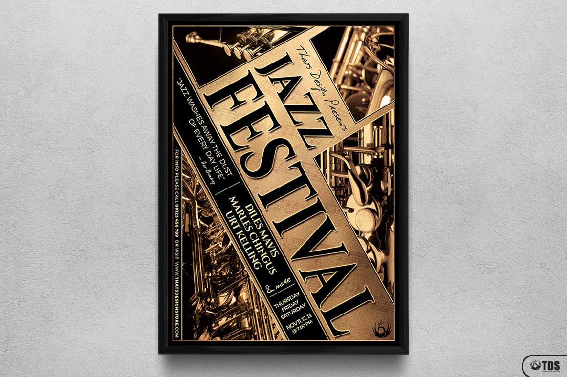 Jazz Festival Flyer Template V1 example image 6
