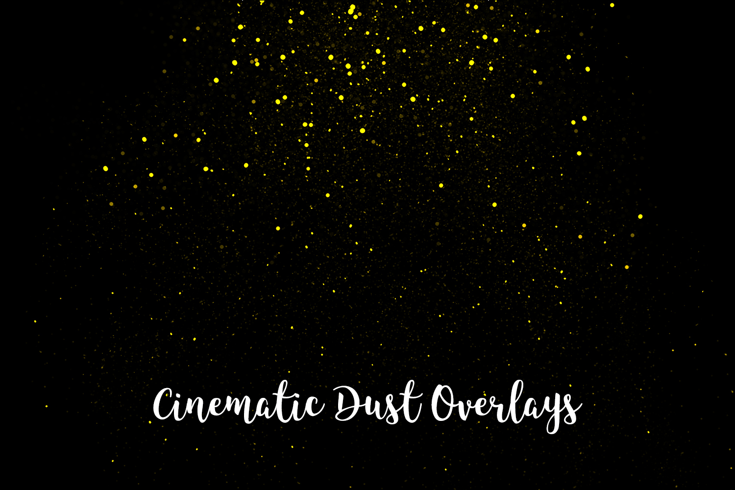 Cinematic Dust Photo Overlays, Bokeh Light Effects example image 8