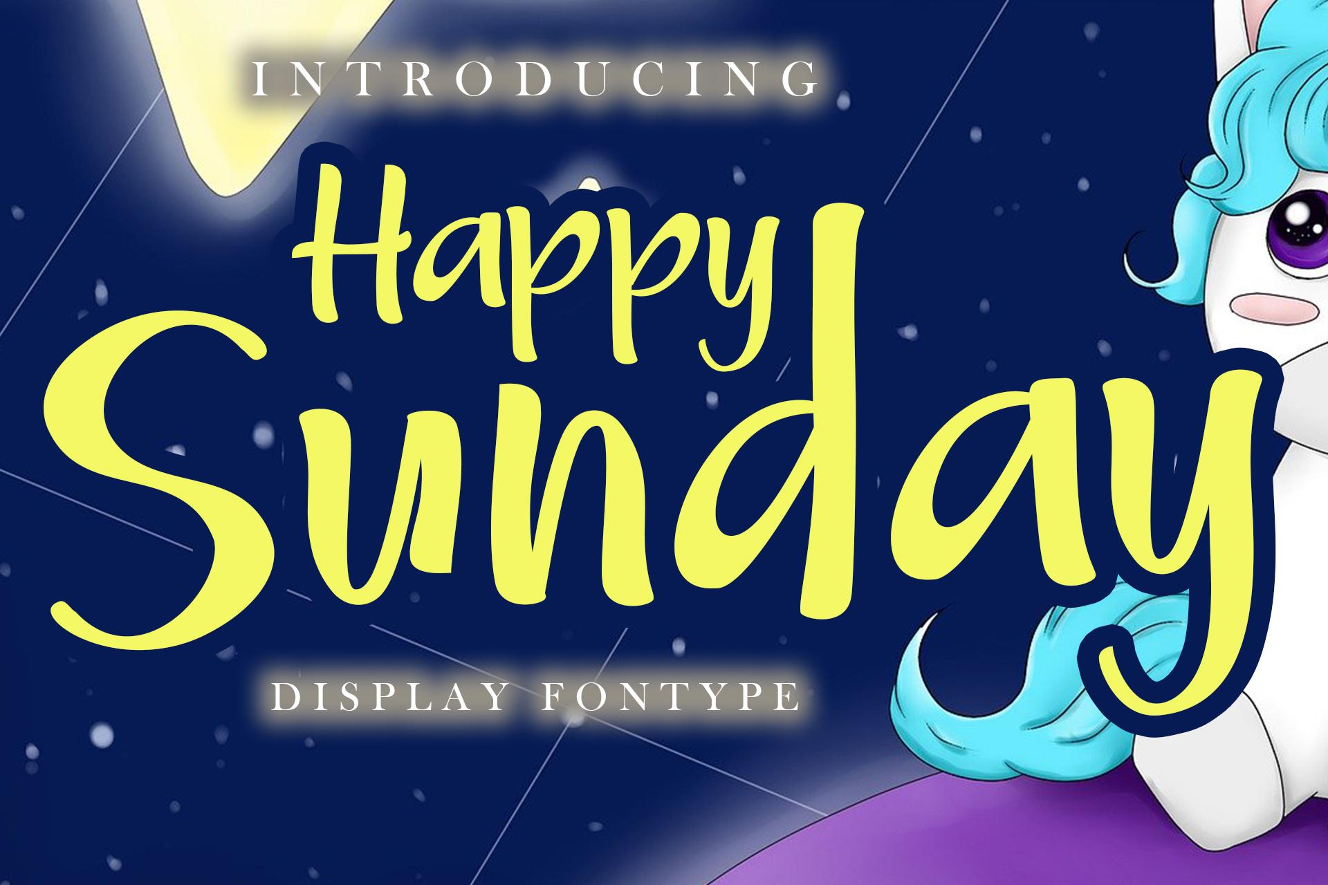 Happy Sunday example image 1