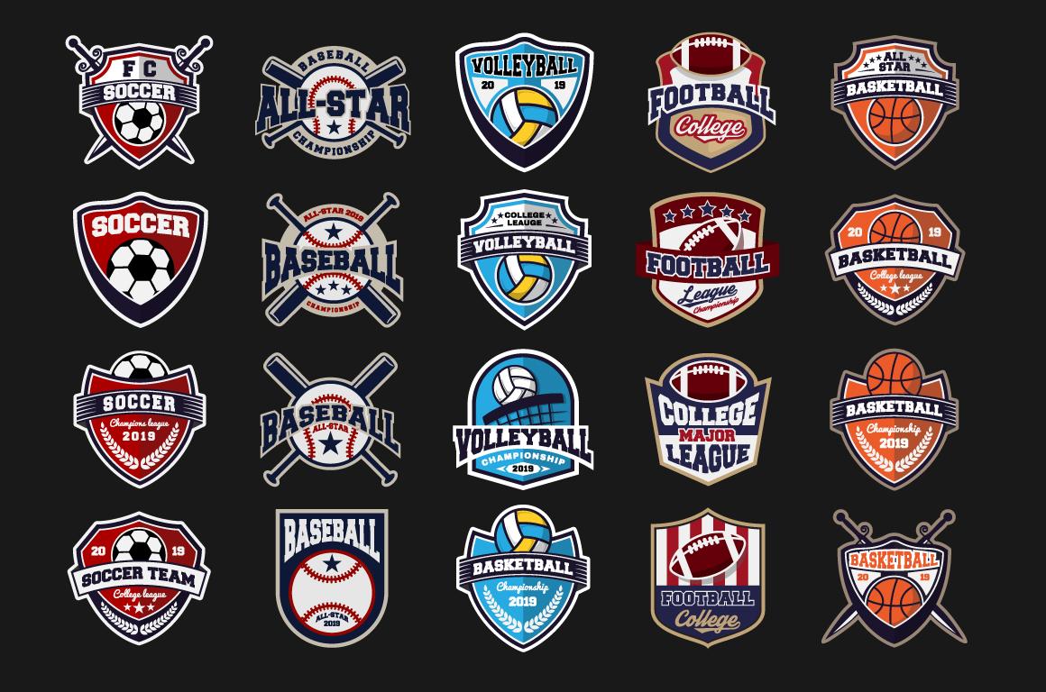 20 Sport Team Logos Template example image 2