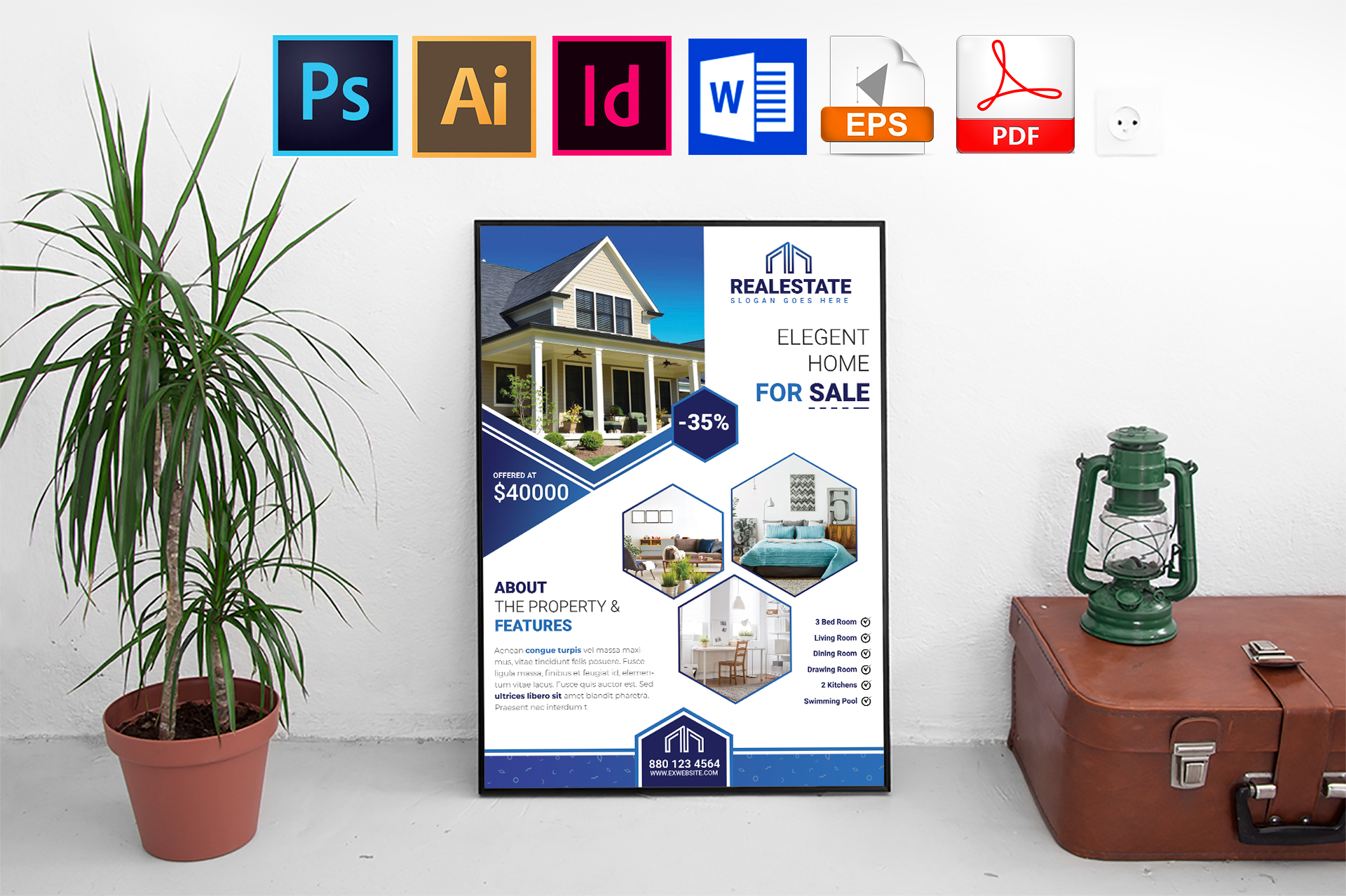 Poster |Real Estate Vol-01 example image 1