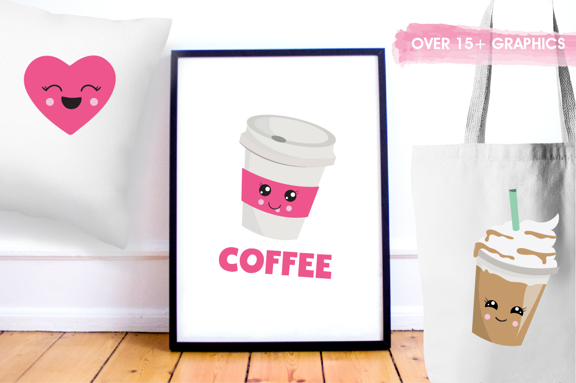 Coffee Lovers graphics and illustrations example image 5