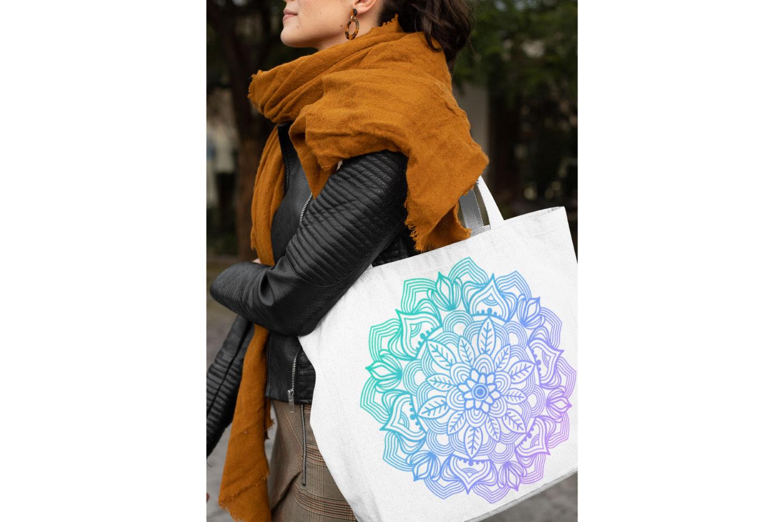 Mandala Bundle- 40 SVG cut files example image 7