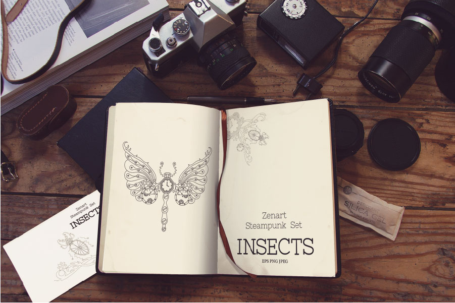 Zenart Steampunk Insects Set example image 7