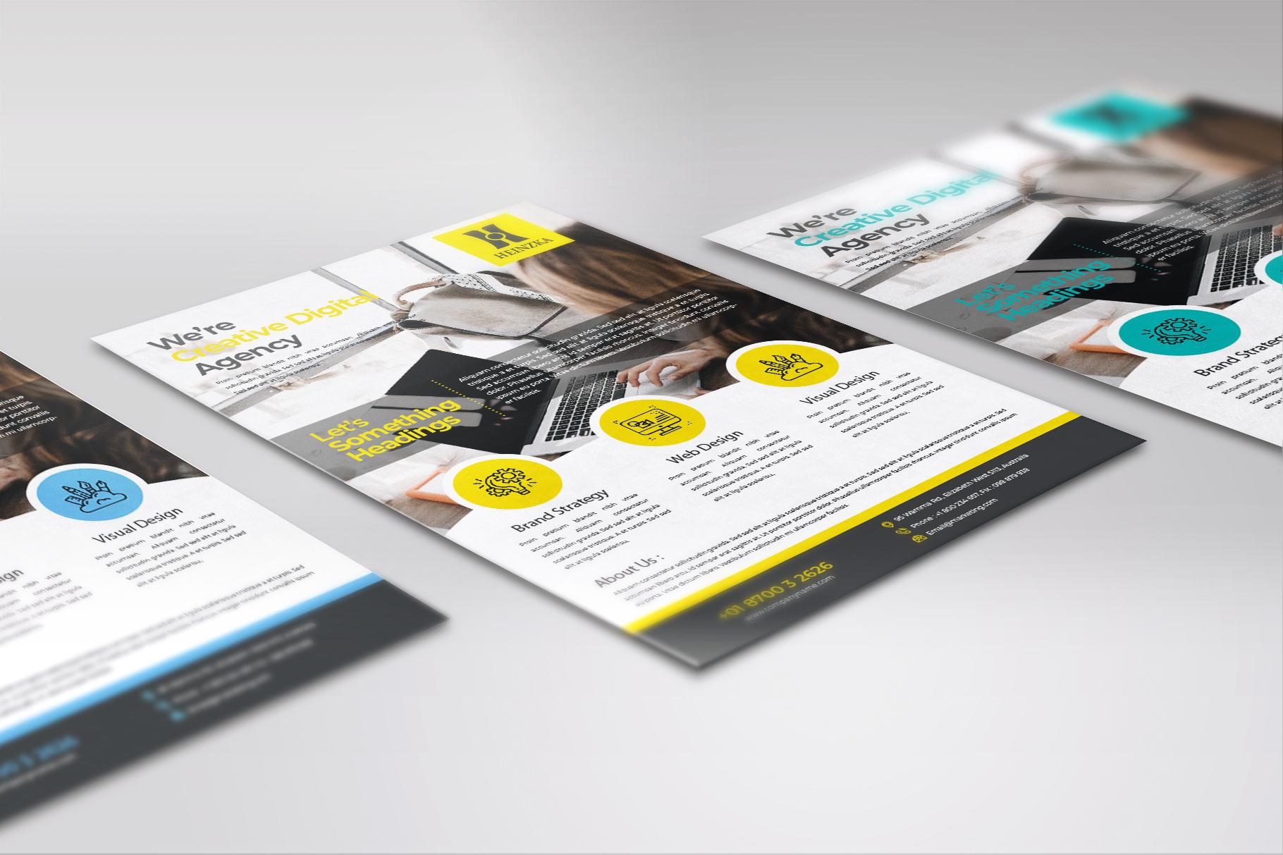 Creative Corporate Flyer Vol. 01 example image 3