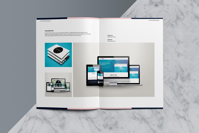 Designer Portfolio-48 Pages example image 23