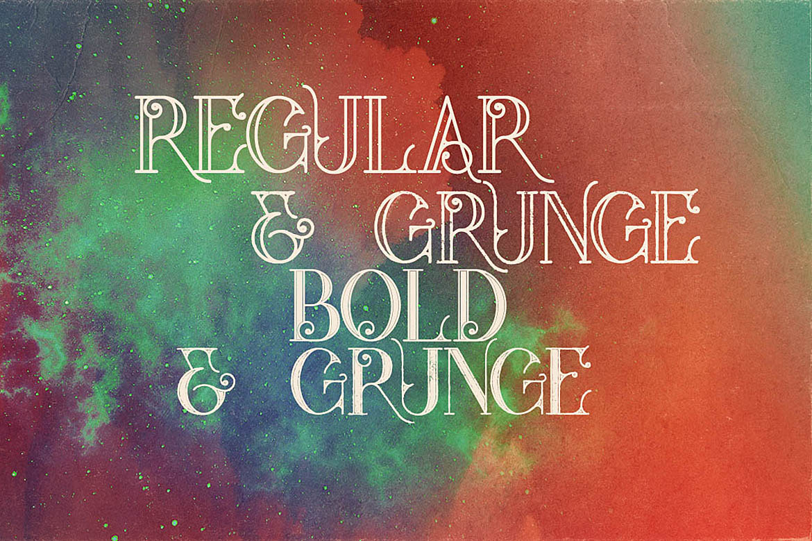 Star Typeface example image 3
