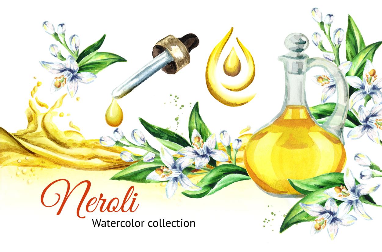 Neroli. Watercolor collection example image 1