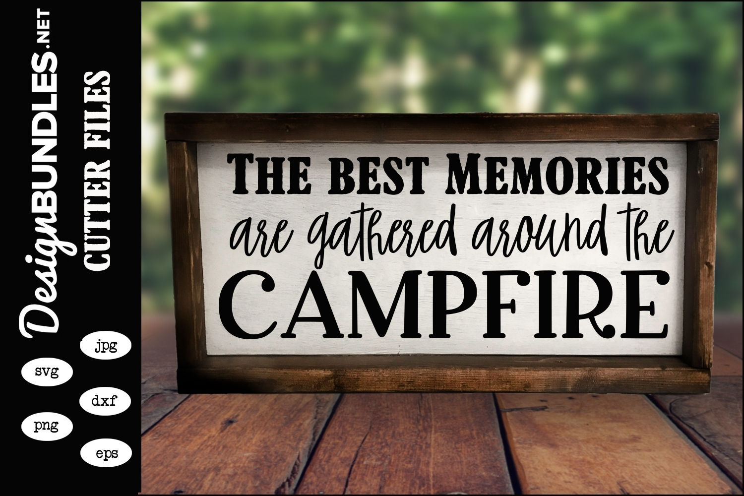 Around The Campfire SVG example image 1