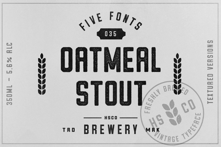 Oatmeal Stout - 5 Styles example image 2